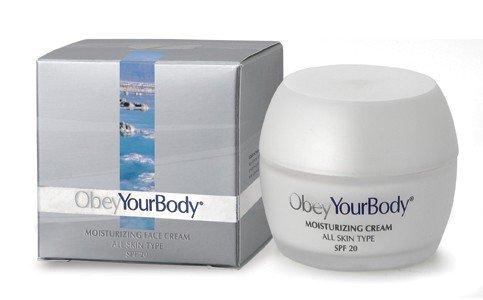 Obey Your Body Dead Sea Moisturizing Face Cream SPF 15 Moisturizer