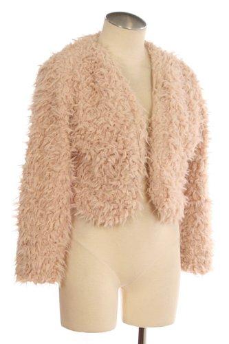 G2 Chic Women's Faux Fur Jacket
