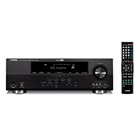 Yamaha RX-V365BL 500 Watt 5-Channel Home Theater Receiver