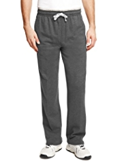 Soft Touch Pure Cotton Double Stripe Jogging Bottoms