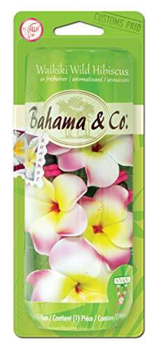 Bahama & Co. by Refresh Your Car! 06343 Scented Necklace, Waikiki Wild Hibiscus
