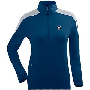 Antigua Ladies Houston Astros Succeed Front Fleece Half-Zip Pullover by Antigua