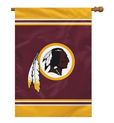 "NFL Washington Redskins 1 Sided House Banner, 28"" x 40""/One Size, Team Color"