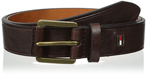 Tommy-Hilfiger-Mens-Dress-Casual-Belt-With-Wrapped-Knarled-Buckle
