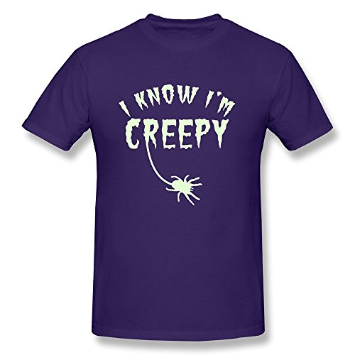 Spider Know Im Creepy Man'S Fitted Ideas Tee Shirts - Ultra Cotton front-501849