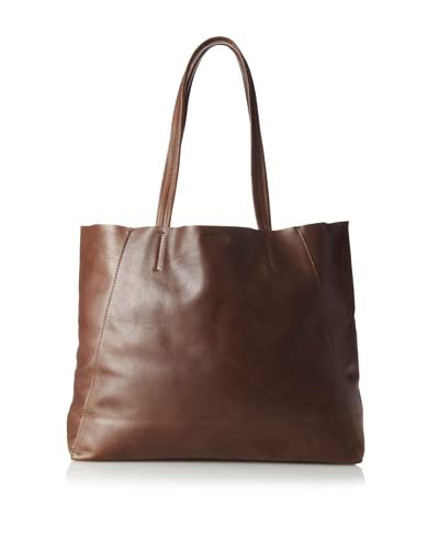 Streets Ahead Women's Classic Small Tote, Distressed Dark Chocolate