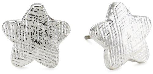 Tuleste Market Star Silver Stud Earrings