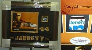 Dale Jarrett Autographed Photograph - Framed 8x10 Car Metal JSA COA - Autographed... by Sports Memorabilia