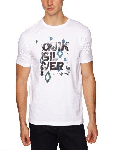 Quiksilver Ss Basic Tee-KPMJE871T Printed Men's T-Shirt White Small