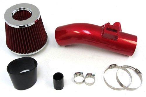 07-12 Nissan Altima V6 3.5L Red Short Ram Air Intake Kit + Red Filter / Black Hose 10 11 front-628266