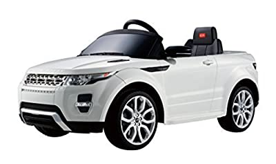 Licensed Range Rover Evoque Kids Electric Ride On Car - White