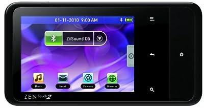 Creative ZEN Touch 2 Android エンターテイメントプレーヤー 8GB ブラック ZN-T28G-BK