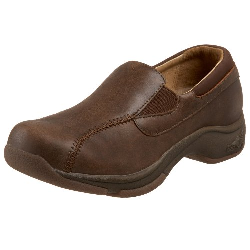 Dansko Women's Kim Loafer,Brown,36 EU / 5.5-6 B(M) US