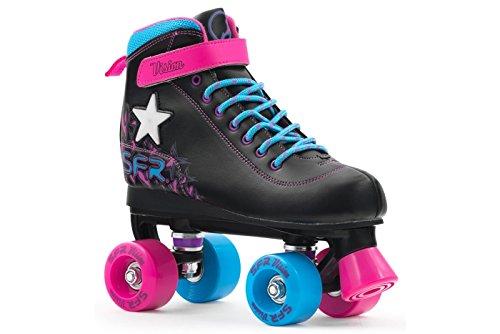 sfr-vision-ii-light-up-kids-quad-rollschuhe-schwarz-pink-blau-eu-38