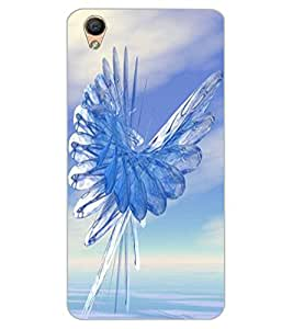 ColourCraft Abstract Image Design Back Case Cover for OPPO R9