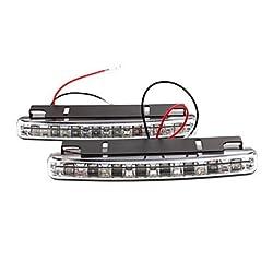 See 2 PCS LED Car Daytime/H Models Running Lights JK158 Details