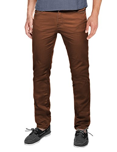 match-mens-slim-fit-straight-leg-casual-pants30-8032-brown