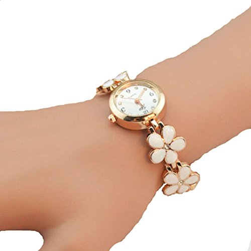 Susenstone(TM) Elegant Women Girl Bracelet Watch Quartz OL Ladies Wrist Watch image