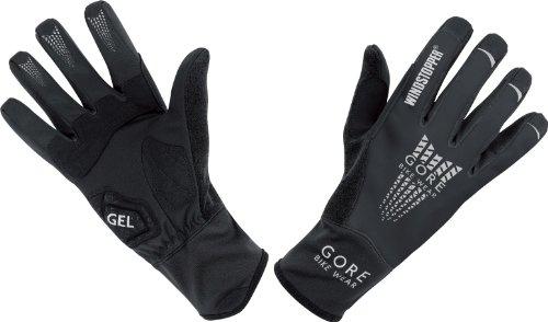 Gore Bike Wear Men's Xenon 2.0 Soft Shell Windstopper   Gloves,Black,X-Large