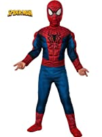 Rubies Marvel Comics Collection: Amazing Spiderman 2 Deluxe Spiderman Costume by Rubies
