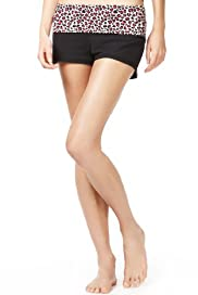 Limited Collection Flirt Yoga Shorts [T81-9210S-S]