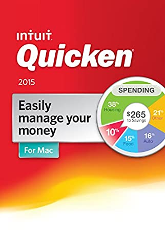 Quicken for Mac 2015