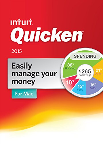 Quicken For Mac Personal Finance & Budgeting Software 2015 [Old Version] (Budget Software 2015 compare prices)