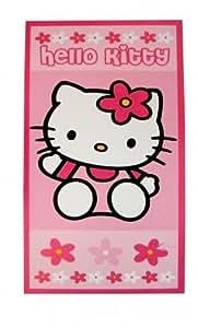 Hello Kitty: Beach Towel 70 x 140cm (Pink / Flowers)