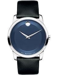 Movado Museum Analogue Blue Dial Men's Watch - 606610