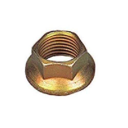 Steel Flange Nut, Distorted Threads, Self-Locking (Pack of 5)