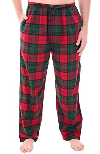 Del Rossa Men's Flannel Pajama Pants, Long Cotton Pj Bottoms