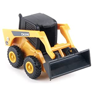 John Deere Skid Steer Laoder Toy, Yellow