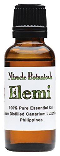 Miracle Botanicals Elemi Essential Oil - 100% Pure Canarium Luzonicum - Therapeutic Grade - 30ml