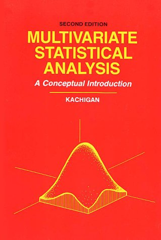 Multivariate Statistical Analysis: A Conceptual...