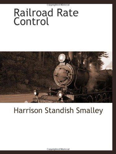 Railroad Rate Control