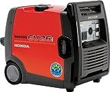 ホンダ・インバーターエンジン発電機 品番EU26i(JN)AC100V2.6Kw/DC12V8.3A/周波数切替(50/60Hz)(maru)