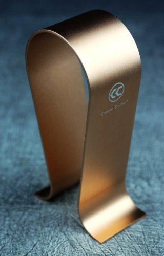 Omega Aluminum Headphone Stand/Hanger/Holder (Gold)