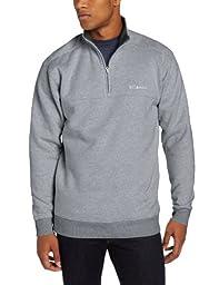 Columbia Men\'s Hart II 1/2 Zip Jacket, Charcoal Heather, X-Large