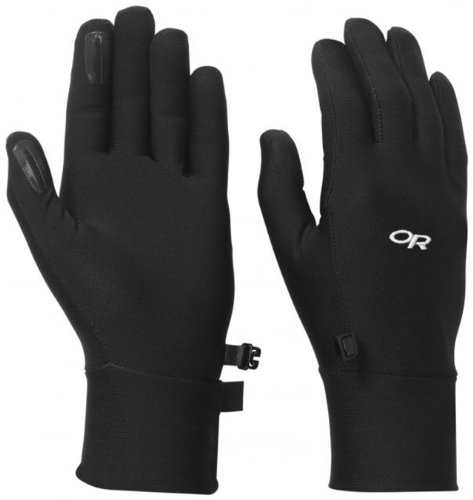 Outdoor Research Women's PL Base Gloves, Black, Medium