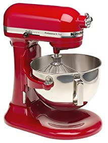 KitchenAid KV25GOXER Professional 5 Plus 5-Quart Stand Mixer Empire Red