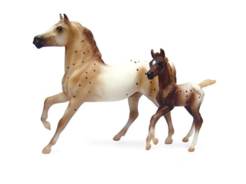 Breyer Semi-Leopard Appaloosa and Chestnut Blanket Appaloosa Foal (Breyer Classic Stable compare prices)