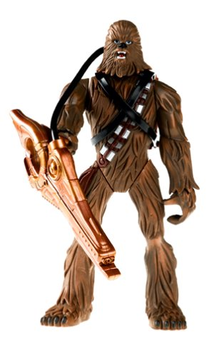 "Star Wars Episode III 3 Revenge of the Sith CHEWBACCA FORCE BATTLERS 9"" FIGURE - 1"