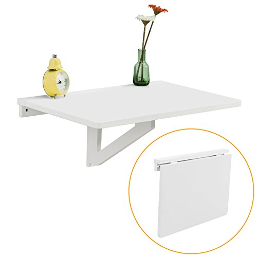 Haotian Wall-mounted Drop-leaf Table, Folding Kitchen & Dining Table Desk
