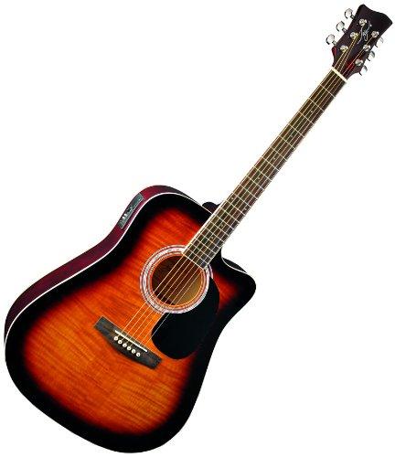 best price new pro jay turser jj45fcettsb acoustic electric guitar on sale guitars. Black Bedroom Furniture Sets. Home Design Ideas