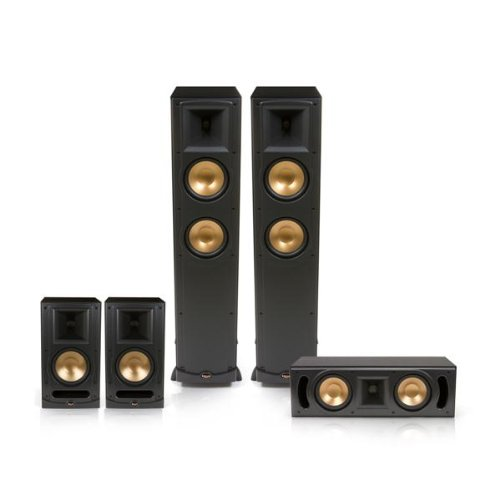 Klipsch Rf-600 Reference Series 5.0 Home Theater Speaker System - Limited Edition (Black)