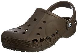 crocs Unisex Baya Clog, Chocolate, 8 M (D) US Men / 10 M (B) US Women