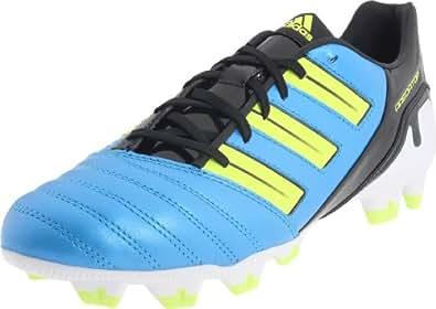 adidas Men's Predator Absolion Trx Fg Soccer Cleat,Predator Sharp Blue Metallic/Electricity/Black,8 D US