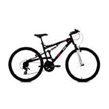 Jeep Renegade Men's DualSuspension Mountain Bike 26Inch Wheels