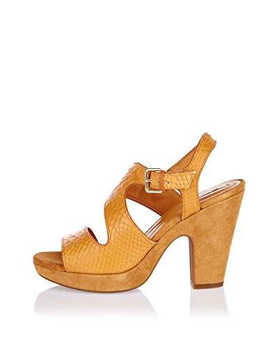 Geox Sandalo Con Tacco D Nurit B