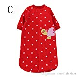 SPECIAL XMAS GIFT Babys first Christmas Baby Sleeping Bag Unisex Red Polka Velvet Bebedou Long Sleeve Boy Girl 0 to 6 Months 2 Tog Baby Shower Gift Newborn Gift